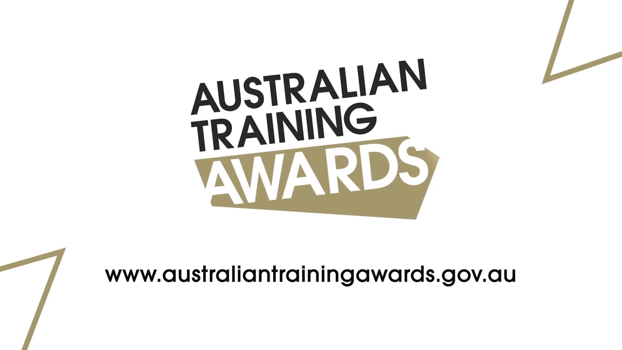 A still frame from the video Australian Training Awards - How To Apply  - RTO with animation
