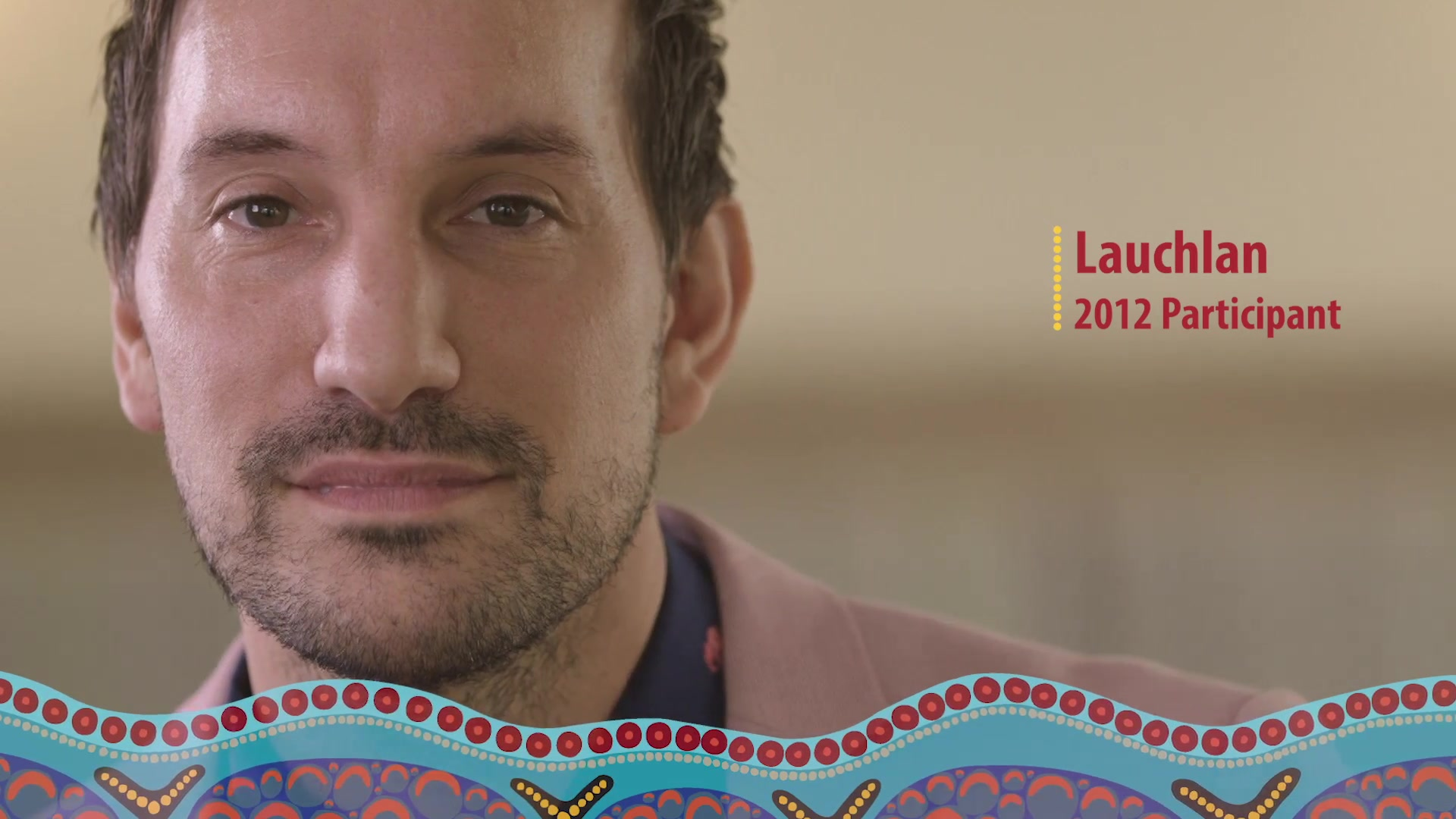 A still frame from the video IAGDP - Lauchlan