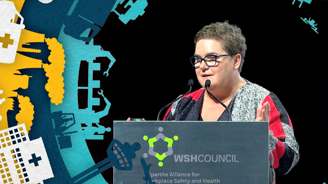 A still frame from the video SWA: The Singapore WSH Conf 2018 - Michelle Baxter