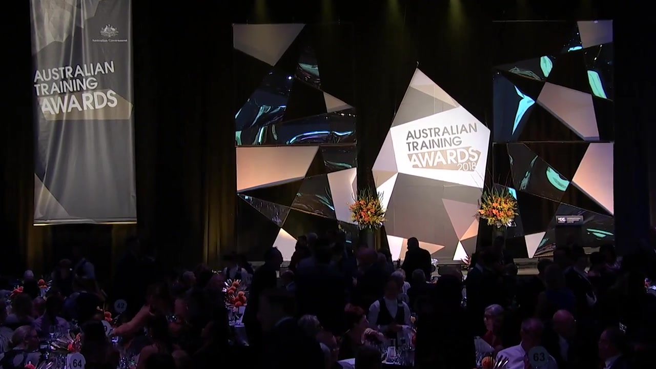 A still frame from the video Australian Training Awards - How To Apply - RTO