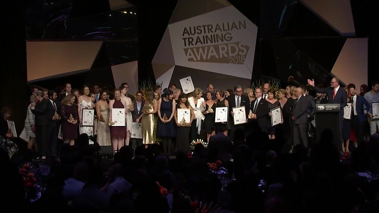 A still frame from the video Australian Training Awards - Overarching how to apply video